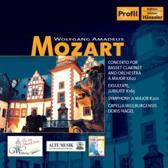 Mozart: Clarinet Concerto, Symph. K 201, ...