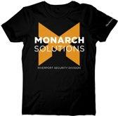 Quantum Break Monarch Solutions Black TShirt 2XL