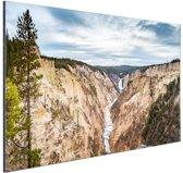 FotoCadeau.nl - Yellowstone Verenigde Staten Aluminium 60x40 cm - Foto print op Aluminium (metaal wanddecoratie)