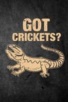 Got Crickets?