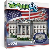 Wrebbit 3D Puzzel - Washington White House - 490 stukjes