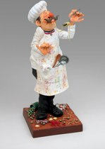 Guillermo Forchino Art - The Cook - Small model