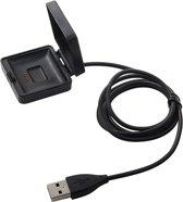 USB-lader adapter voor Fitbit Blaze - Zwart