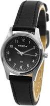 Prisma Collboek Dames horloge P1206 - 27 mm - Leer - Zwart