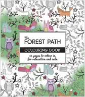 Kleurboek Forest Path, afm 19,5x23 cm, 64 pagina´s, 1 stuk