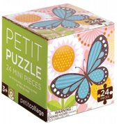 Petit Collage Puzzel Vlinder 24-delig