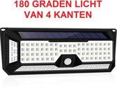 136 LED Ultra Felle Solar Lamp op Zonne-Energie - Tuinverlichting met Extra Veel Licht met Bewegingssensor en Nachtsensor - SensaHome Solar Light