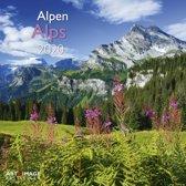 Alpen - Alps Kalender 2020 incl. jaarposter