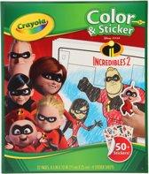 Crayola Incredibles Kleur- en Stickerset