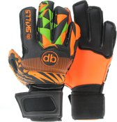 Keepershandschoenen fingersave db SKILLS Orange junior Maat 3