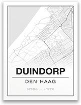 Poster/plattegrond DUINDORP - A4