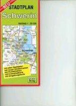Stadtplan Schwerin 1 : 20 000
