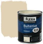 Flexa Professional Buitenlak Dekkend Hoogglans Ral 1015 F5.11.79 750 Ml