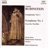 Rubinstein: Symphonies Vol 1 - no 1, Ivan The Terrible / Stankowsky et al