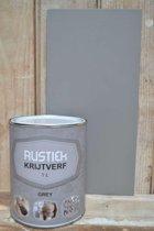 Rustiek Krijtverf 0,5 liter Grey
