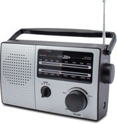 Caliber Radio | HPG317R | Retro | FM Radio | Batterijen