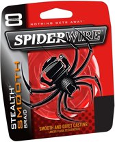 Spiderwire Stealth Smooth 8 | Red | Dyneema | 9.2 kg | 0.10mm | 150m