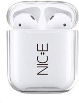 Airpods Case Cover - Beschermhoes - NICE - Geschikt voor Apple Airpods 1 en 2