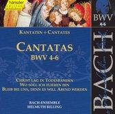 Cantatas BWV 4-6