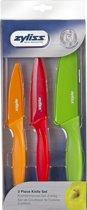 Zyliss Messenset - 3 delig- gekleurd