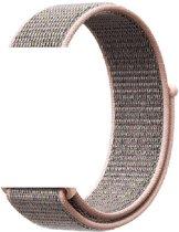Nylon bandje - Apple Watch Series 1/2/3/4 (38&40mm) - roze