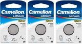 3 Stuks - Camelion Lithium CR2477 3v knoopcelbatterij