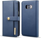 Samsung Galaxy S8 Plus 2-in-1 Bookcase en Back Cover Hoesje Blauw