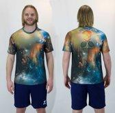 Bones Sportswear Heren T-shirt Universe maat XL