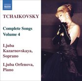Tchaikowsky: Songs Vol.4