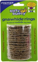 Premier Busy Buddy Ring Natural - Large - 16 stuks