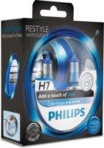 Philips Gloeilampset - Color Vision H7 Blue - 2 Stuks