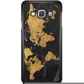 Samsung Galaxy A3 (2015) hoesje - Wereldmap