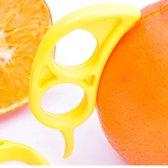 Peeler Citrusfruit Geel | Handige Keukenhulp | Fruitschiller