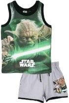 Star Wars Singlet zomerset - Yoda - Groen - maat 102 cm - 4 jaar