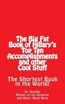 The Big Fat Book of Hillary's Top Ten Accomplishments