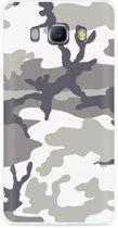 Galaxy J5 2016 Hoesje Army Camouflage Grey