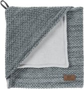 Omslagdoek Baby's Only River Chenille Antra/Grijs Melee
