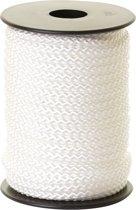 VIS MAGNEET TOUW 20 METER - Touw voor magneet vissen – Geslagen Polypropyleen 6mm, 8mm & 10mm – Extra zacht wit touw – 750 kg breekracht