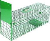 MaxxGarden vangkooi voor dieren - rattenval - 80x25x30cm - opvouwbaar