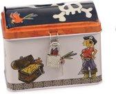 Egmont Toys Spaarpot metaal Piraat 2