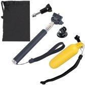 YKD-133 5-in-1 schokbestendige EVA-camerabehuizing + zwevende handgreep + telescopische handheld Monopod + statiefadapter + schroeven + bag-set voor GoPro NIEUWE HERO / HERO6 / 5/5 sessie / 4/3 + / 3/2/1