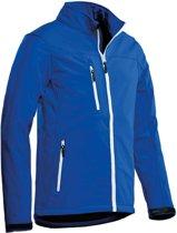 Santino softshell jacket Soul - 200154 - koningsblauw - maat M