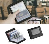 Anti-Skim Wallet - RFID Blocker Hoesje Voor Pinpas/OV Chipkaart/ID Kaart/Bankpas Guard Bescherm Card Protector - Mini Slim Kaarthouder Beschermhoes Houder