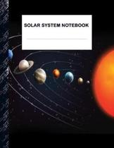 Solar System Notebook: Boys' and Girls Fun Lined Notebook for Grades K-2-3-4