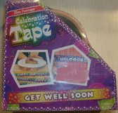 Funtape get well soon - afzetlint beterschap - 25m
