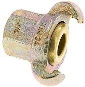 Gietijzer DN 17 DIN 3498 compressor klauwkoppeling Rp 3/4 inch Binnendraad - CL42-17-F-IB-034