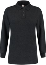 Tricorp Dames polosweater - Casual - 301007 - Antracietgrijs - maat 3XL