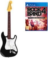 Rock Band 4 Bundel (Guitar + Game) - PS4