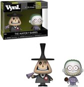 Funko / Vynl - The Mayor & Barrel (The Nightmare Before Christmas) 2-pack