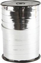 Krullint, b: 10 mm, zilver metallic, 250 m